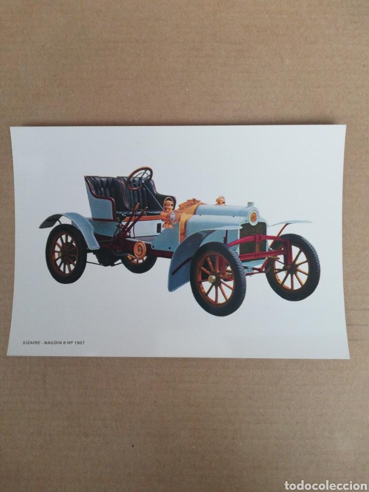 POSTAL SIZARE NAUDIN 8 HP 1907 (Postales - Postales Temáticas - Coches y Automóviles)
