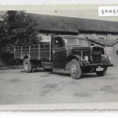 Postales: CAMIÓN MAN DIÉSEL - FOTOGRAFÍA 11,4 X 8,5 CM. - P30060. Lote 195214176