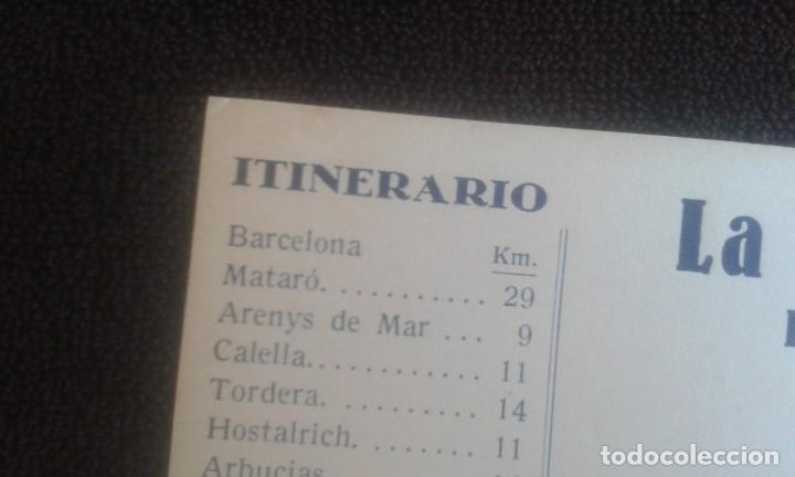 Postales: LOTE DE 5 POSTALES PUBLICITARIAS.REAL AUTOMOVIL CLUB DE CATALUÑA.5 ITINERARIOS. LA HISPANO-SUIZA. - Foto 16 - 195384833