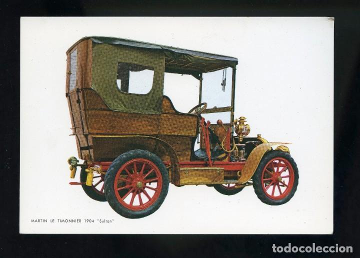 POSTAL DE COCHE ANTIGUO. MARTIN LE TIMONNIER 1904 SULTAN. C.YZ. (Postales - Postales Temáticas - Coches y Automóviles)