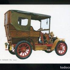 Postales: POSTAL DE COCHE ANTIGUO. MARTIN LE TIMONNIER 1904 SULTAN. C.YZ.. Lote 195897107