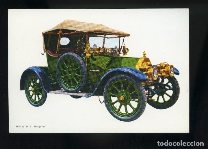 POSTAL DE COCHE ANTIGUO. BELZISE 1912 MARGARET. C.Y Z. (Postales - Postales Temáticas - Coches y Automóviles)