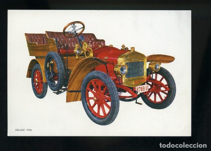 POSTAL DE COCHE ANTIGUO. DELAGE 1906. C.Y Z. (Postales - Postales Temáticas - Coches y Automóviles)