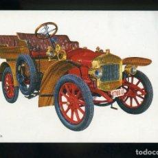 Postales: POSTAL DE COCHE ANTIGUO. DELAGE 1906. C.Y Z.. Lote 195897312
