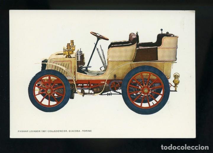 POSTAL DE COCHE ANTIGUO. PANHAR LEVASOR 1901 COLLEZIONE DR. GIACOSA - TORINO. C.Y Z. (Postales - Postales Temáticas - Coches y Automóviles)