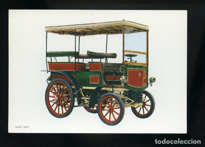 POSTAL DE COCHE ANTIGUO. BENZ 1899. C.Y Z. (Postales - Postales Temáticas - Coches y Automóviles)
