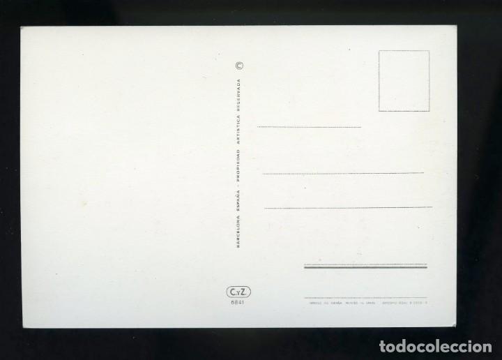 Postales: Postal de coche antiguo. Benz 1899. C.y Z. - Foto 2 - 195897516