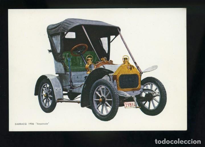 POSTAL DE COCHE ANTIGUO. DARRACQ 1906 ANASTASIE. C.Y Z. (Postales - Postales Temáticas - Coches y Automóviles)