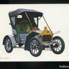 Postales: POSTAL DE COCHE ANTIGUO. DARRACQ 1906 ANASTASIE. C.Y Z.. Lote 195897632