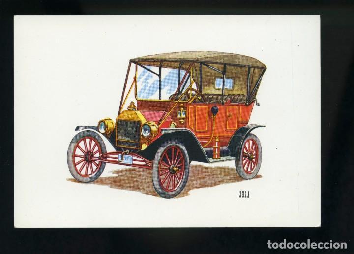 POSTAL DE COCHE ANTIGUO. 1911. BV (Postales - Postales Temáticas - Coches y Automóviles)