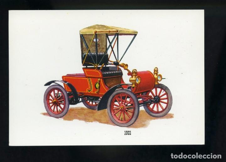 POSTAL DE COCHE ANTIGUO. 1901. BV (Postales - Postales Temáticas - Coches y Automóviles)