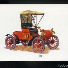 Postales: POSTAL DE COCHE ANTIGUO. 1901. BV. Lote 195897893