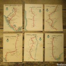 Cartes Postales: LOTE 6 TARJETAS POSTALES REAL SOCIEDAD AUTOMOVILÍSTICA SEVILLANA. GÓMEZ HNOS - SEVILLA. Lote 196385858
