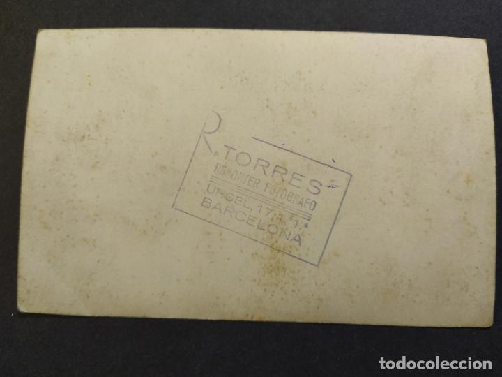 Postales: MOTO CON SIDECAR-FOTOGRAFO R.TORRES, BARCELONA-POSTAL FOTOGRAFICA ANTIGUA-(68.628) - Foto 3 - 196530683