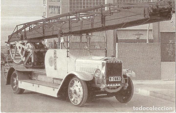 == PV181 - POSTAL - AUTOESCALERA MERCEDES - 1925 (Postales - Postales Temáticas - Coches y Automóviles)