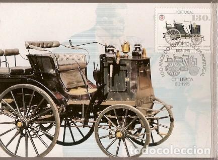 PORTUGAL & MAXI,100 AÑOS DEL AUTOMÓVIL EN PORTUGAL, PANHARD Y LEVASSOR 1895, LISBOA 1995 (152) (Postales - Postales Temáticas - Coches y Automóviles)