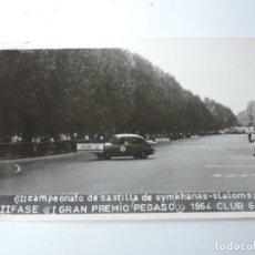 Postales: FOTOGRAFIA DEL CLUB 600, II CAMPEONATO DE CASTILLA DE GYMKHANAS- SLALOMS, II FASE DEL GRAN PREMIO P. Lote 204606585