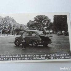 Postales: FOTOGRAFIA DEL CLUB 600, II CAMPEONATO DE CASTILLA DE GYMKHANAS- SLALOMS, II FASE DEL GRAN PREMIO P. Lote 204606781