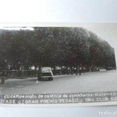 Postales: FOTOGRAFIA DEL CLUB 600, II CAMPEONATO DE CASTILLA DE GYMKHANAS- SLALOMS, III FASE DEL I GRAN PREMI. Lote 204606978