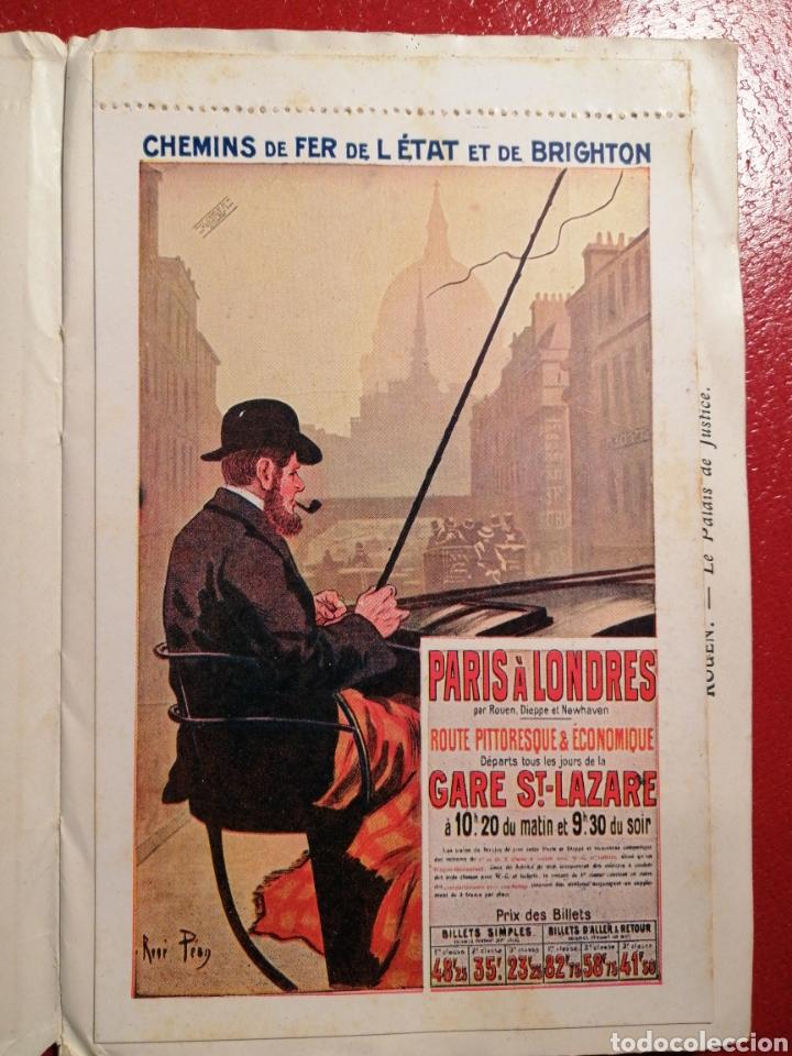 Postales: CHEMINS DE FER DE L´ETAT ET DE BRIGHTON CARTES POSTALES 8 - LIBRITO DE POSTALES PARIS. - Foto 4 - 205592325