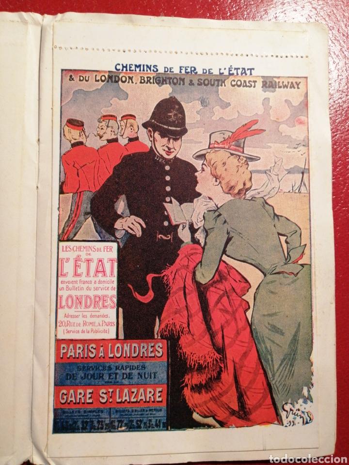 Postales: CHEMINS DE FER DE L´ETAT ET DE BRIGHTON CARTES POSTALES 8 - LIBRITO DE POSTALES PARIS. - Foto 5 - 205592325