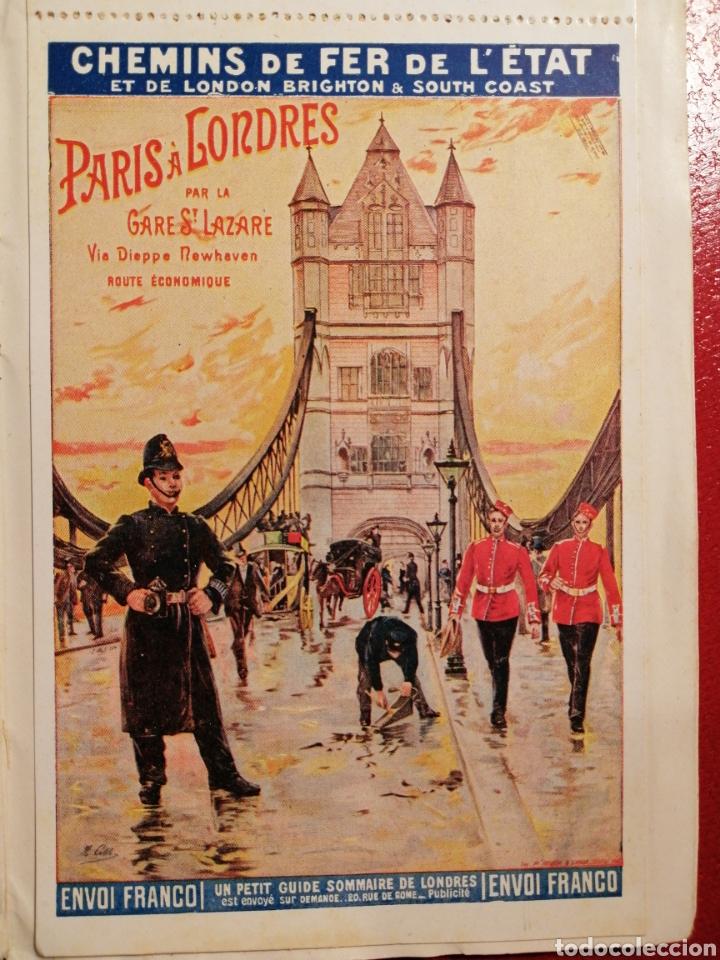 Postales: CHEMINS DE FER DE L´ETAT ET DE BRIGHTON CARTES POSTALES 8 - LIBRITO DE POSTALES PARIS. - Foto 7 - 205592325