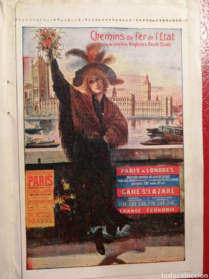Postales: CHEMINS DE FER DE L´ETAT ET DE BRIGHTON CARTES POSTALES 8 - LIBRITO DE POSTALES PARIS. - Foto 8 - 205592325