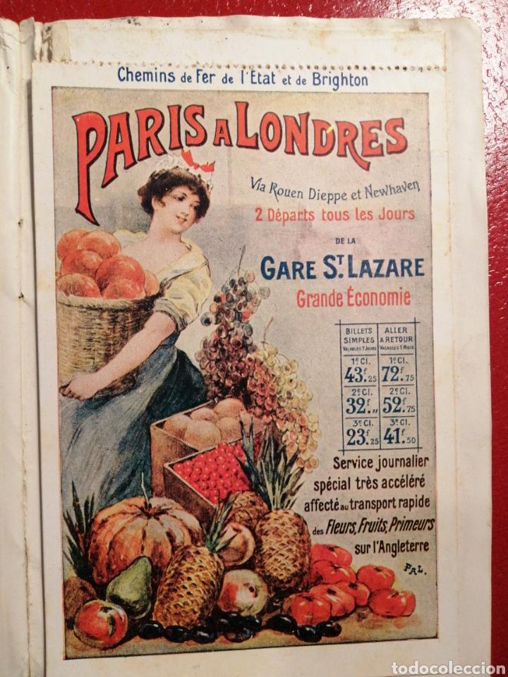 Postales: CHEMINS DE FER DE L´ETAT ET DE BRIGHTON CARTES POSTALES 8 - LIBRITO DE POSTALES PARIS. - Foto 9 - 205592325