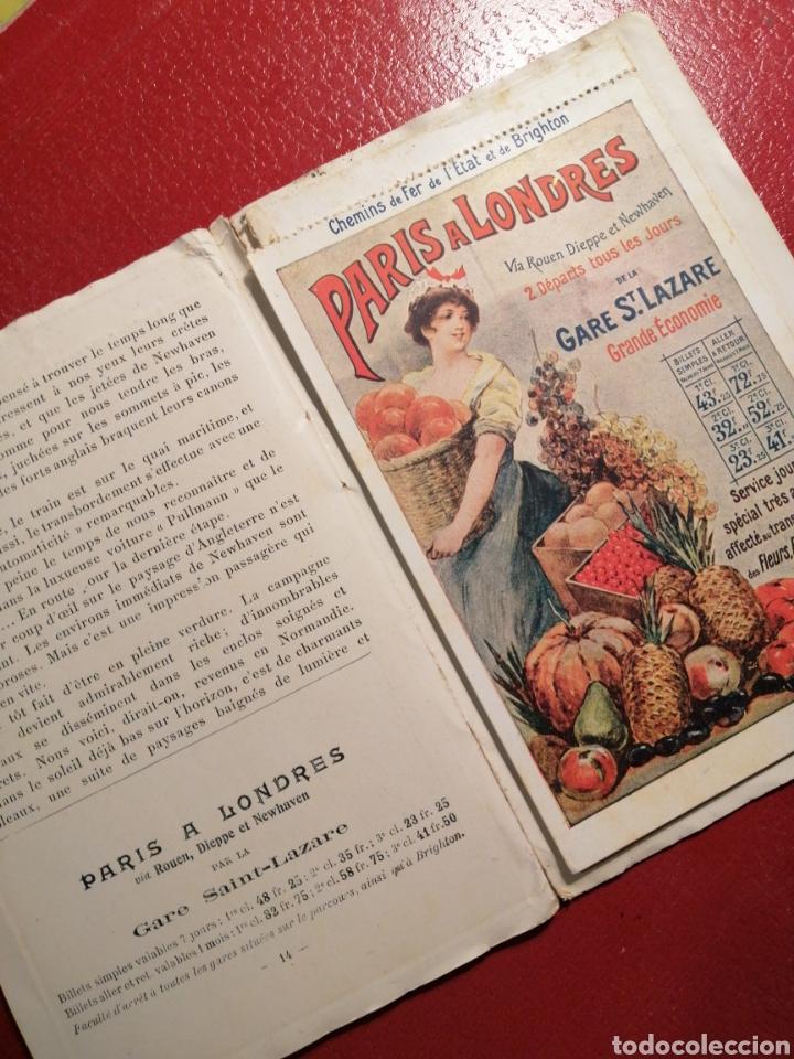 Postales: CHEMINS DE FER DE L´ETAT ET DE BRIGHTON CARTES POSTALES 8 - LIBRITO DE POSTALES PARIS. - Foto 10 - 205592325