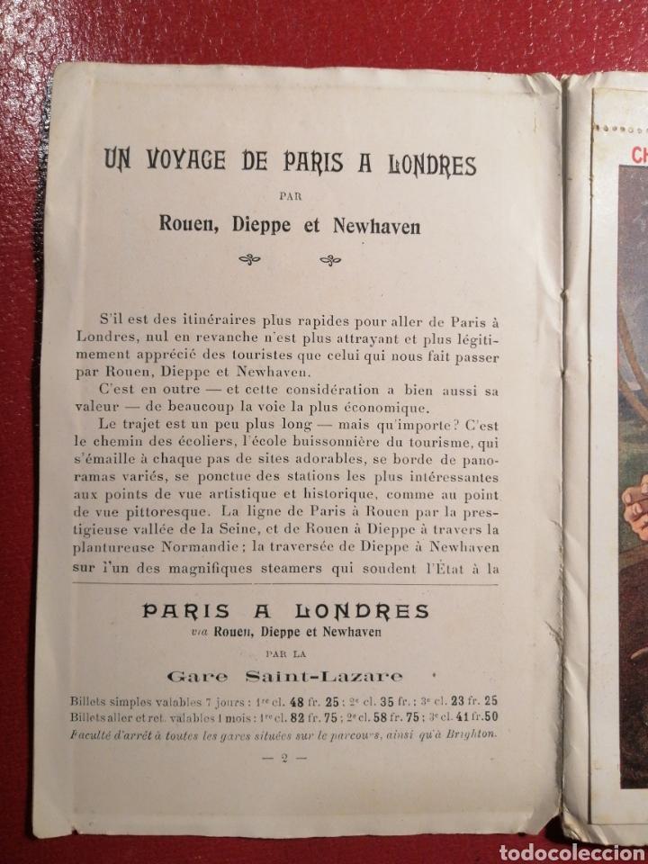 Postales: CHEMINS DE FER DE L´ETAT ET DE BRIGHTON CARTES POSTALES 8 - LIBRITO DE POSTALES PARIS. - Foto 12 - 205592325