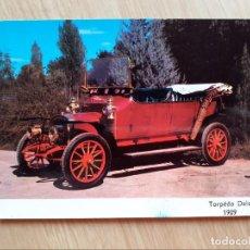 Postales: TARJETA POSTAL - 1964 FRANCIA - TORPEDO DELAHAYE 1909 - MODELO DE AUTO. Lote 206315500