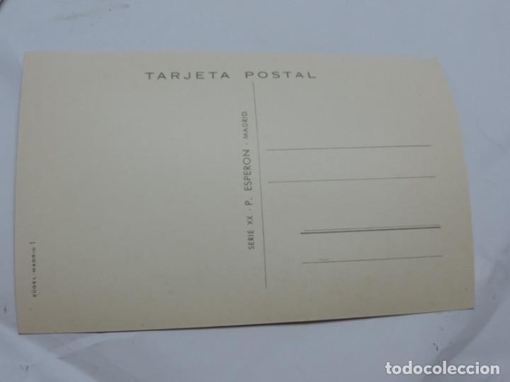 Postales: ANTIGUA FOTO POSTAL DE MOTO VESPA - ED. P. ESPERON - SERIE XX - NO CIRCULADA - ILUSTRADA POR FUSAC. - Foto 2 - 206853110
