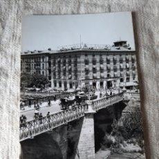 Postales: MURCIA PUENTE VIEJO HOTEL VICTORIA CARRUAJES CABALLOS EDICIONES ARRIBAS. Lote 206891740