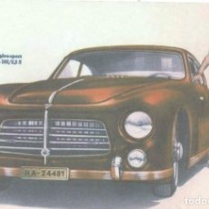 Postales: AUTOMOVIL PEGASO Z-102. Lote 207034322