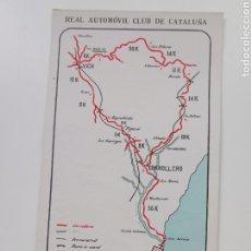 Postales: POSTAL REAL AUTOMÓVIL CLUB DE CATALUNYA. Nº14 PROPAGANDA DE PETRÓLEOS PORTO PI.. Lote 207556926