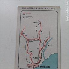 Postales: POSTAL DEL REAL AUTOMÓVIL CLUB DE CATALUNYA Nº11. PROPAGANDA DE PETRÓLEOS PORTO PI.. Lote 207557270