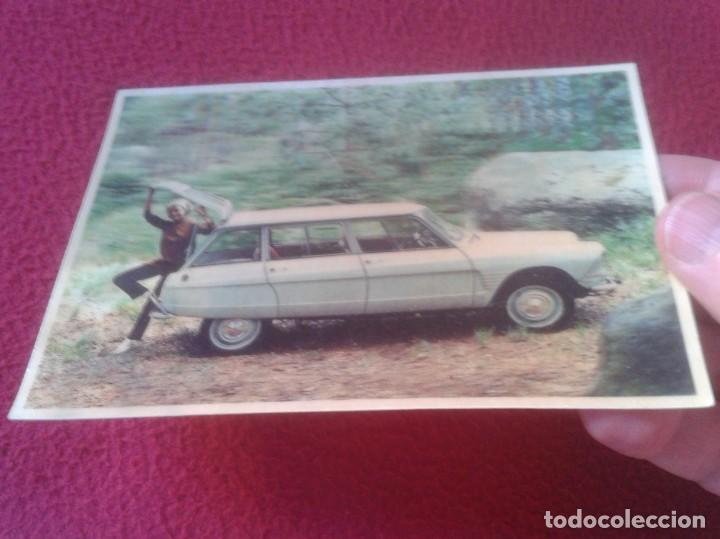 Postales: POST CARD TIPO 3D TRIDIMENSIONAL O SIMIL COCHE CAR VOITURE BREAK AMI 6 CITROËN AUTO PUBLICIDAD MOTOR - Foto 2 - 210119143