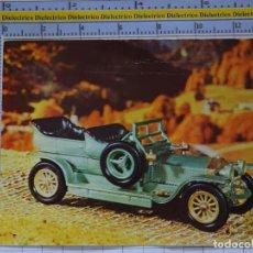 Postales: POSTAL DE COCHES MOTOS. COCHE ROLLS ROYCE SILVER GHOST DE 1907. 964. Lote 210254940