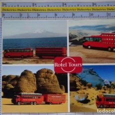 Postales: POSTAL DE COCHES MOTOS. CAMIONES AUTOBUSES HOTELES VIAJES ROTEL TOURS. 965. Lote 210254978