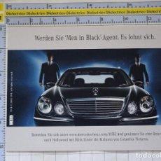 Postales: POSTAL DE COCHES MOTOS. CINE. PELÍCULA MEN IN BLACK II. COCHE MERCEDES. 970. Lote 210255410
