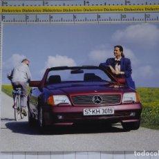 Postales: POSTAL DE COCHES MOTOS. MERCEDES BENZ 300 SL. 973. Lote 210255497