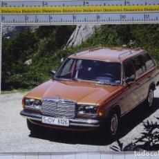 Postales: POSTAL DE COCHES MOTOS. MERCEDES BENZ 300 TD TURBODIESEL. 974. Lote 210255522