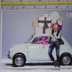 Postales: POSTAL DE COCHES MOTOS. COCHE FIAT 600? MUJER MODELO VAQUEROS. 978. Lote 210255802
