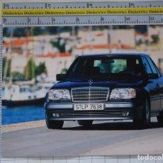 Postales: POSTAL DE COCHES MOTOS. COCHE MERCEDES BENZ E 500. 981. Lote 210255933