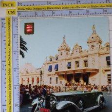 Postales: POSTAL DE COCHES MOTOS. MÓNACO RALLYE MONTECARLO. CONCURSO COCHES CLÁSICOS. 987. Lote 210256196