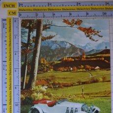Postales: POSTAL DE COCHES MOTOS. MERCEDES 36/200 DE 1928. 1638. Lote 210425661