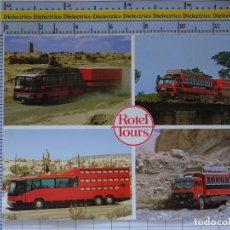 Postales: POSTAL DE COCHES MOTOS. CAMIONES AUTOBUSES HOTELES VIAJES ROTEL TOURS. 1642. Lote 210425752