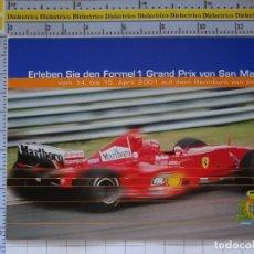 Postales: POSTAL DE COCHES MOTOS. FERRARI F1 GRAND PRIX DE SAN MARINO. 1645. Lote 210425786