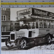 Postales: POSTAL DE COCHES MOTOS. AUTOBÚS ALEMANIA 1913 BERLIN. CIGARROS JOSETTI. . 1653. Lote 210425993
