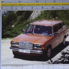 Postales: POSTAL DE COCHES MOTOS. MERCEDES BENZ 300 TD TURBODIESEL . 1657. Lote 210426102